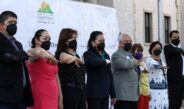 Beto Pérez encabeza Honores a la Bandera por aniversario 211 de la Independencia