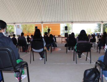 Inicia programa Cuauhtémoc Libre de Drogas en el CECYTECH